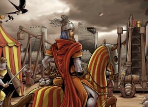 9 D'OCTUBRE DE 1238 Lo rei en Jaume entra a València @ Fossar de les Moreres