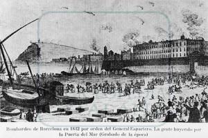 3 DE DESEMBRE DE 1842 ESPARTERO BOMBARDEJA BARCELONA @ Plaça del Fossar de les Moreres