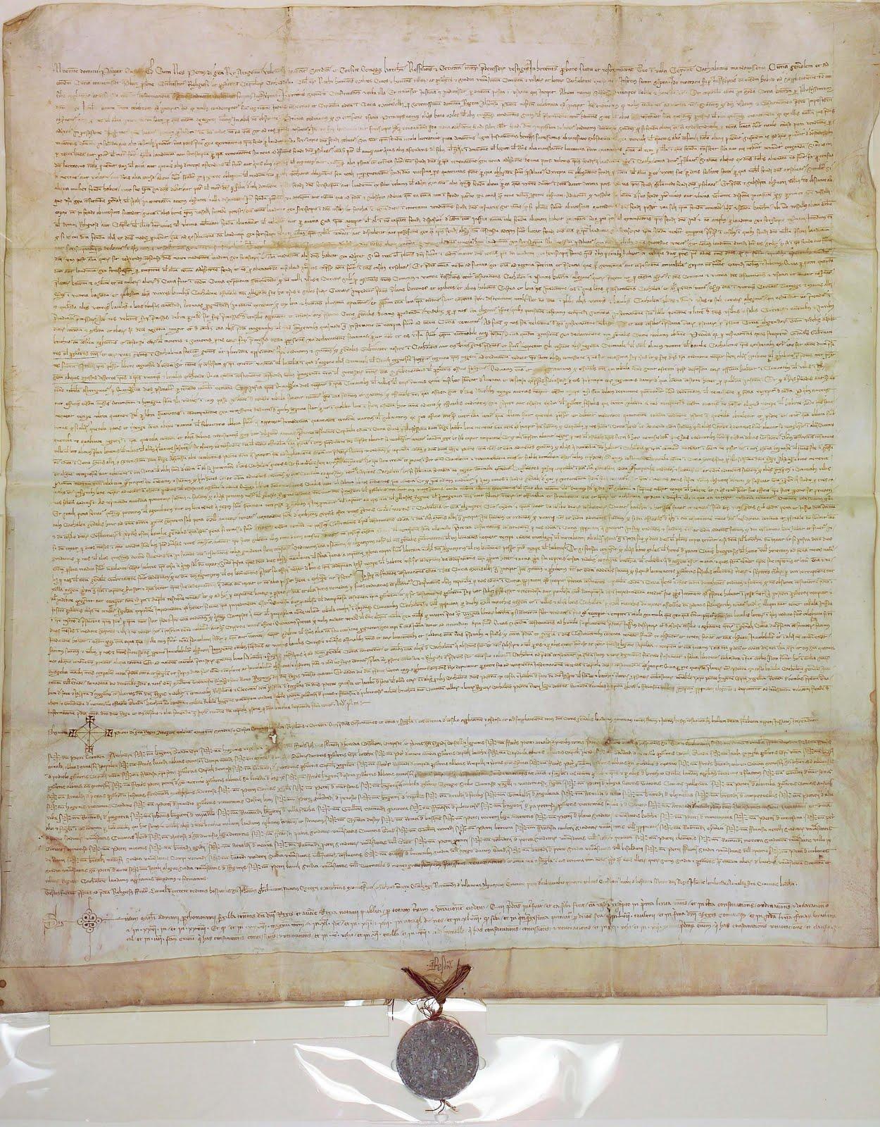 Acta de la Cort General de Catalunya de l'any 1359 celebrada a Cervera (19 de desembre de 1359)