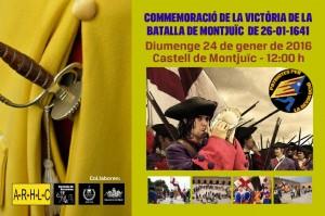 26 DE GENER DE 1641 COMMEMORACIÓ de la Batalla de Montjuïc @ Pati d'armes del Castell de Montjuïc