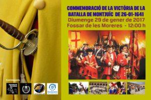 26 DE GENER DE 1641 COMMEMORACIÓ de la Batalla de Montjuïc @ Fossar de les Moreres